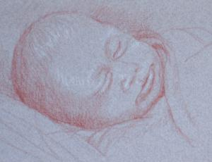 Drawing babies that dont look like Winston Churchill